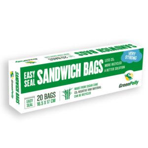 GreenPolly Easy Seal Sandwich Bag