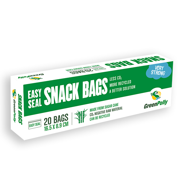GreenPolly Easy Seal Snack Bag