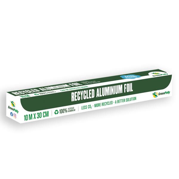 GreenPolly Recycled Aluminium Foil 30 cm